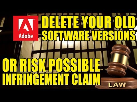 Adobe Says: Delete Your Older Software Versions Now Or Else!