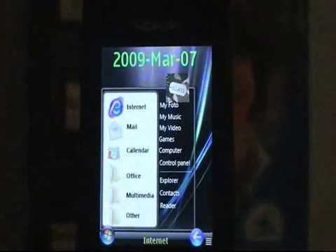 Nokia 6650 Review (Pokaz funkcji 2) (2009) (Part 1/3, część 1/3)