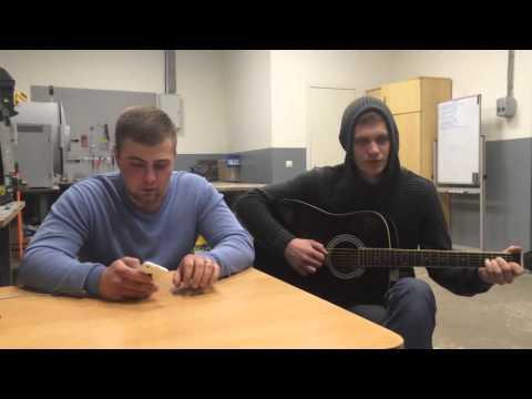 Cover Михаил Круг - Тишина (под гитару)