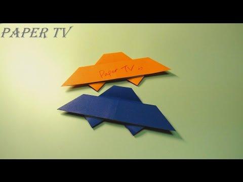 [Paper TV] Origami UFO 미확인 비행물체 종이접기 折り紙  como hacer OVNI de papel UFO de papel