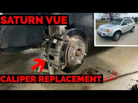 Saturn Vue Brake Caliper Replacement – 2002 – 2007 – How to