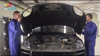 Покраска капота и ремонт с окраской заднего бампера Порше Макан в ''АвтоТОТЕММ''