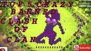 10 Crazy BANNED Clash Of Clans Funny, Sexual & Troll COC Base Builds 2018!