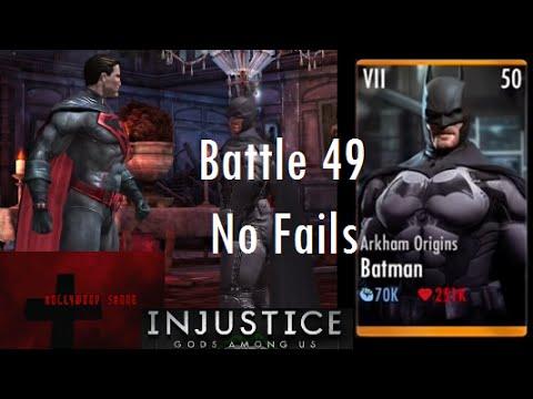 Injustice Gods Among Us iOS Battle 49 No Fails