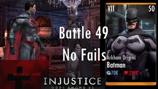 Injustice Gods Among Us iOS Battle 49 No Fails