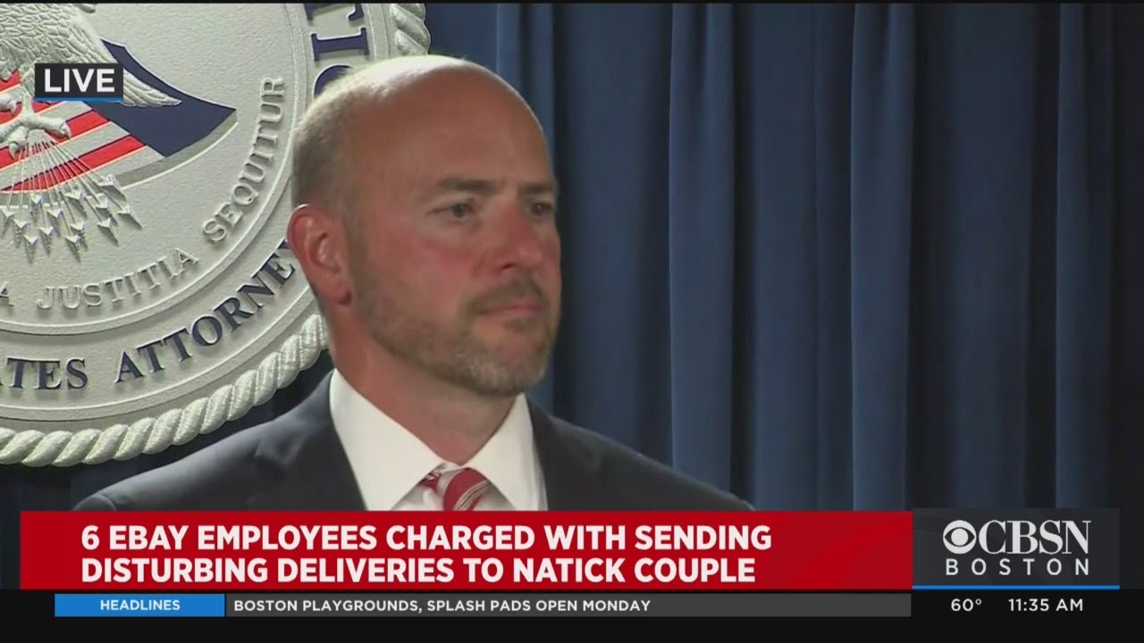 Us Attorney On Ebay Execs Arrest For Alleged Threats Never Seen This Before Youtube
