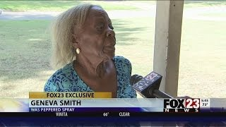 WATCH: Oklahoma Cops Pepper Spray 84-Year-Old Woman