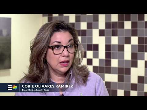 Equality Texas Board Member Corie Olivares Ramirez from Brownsville