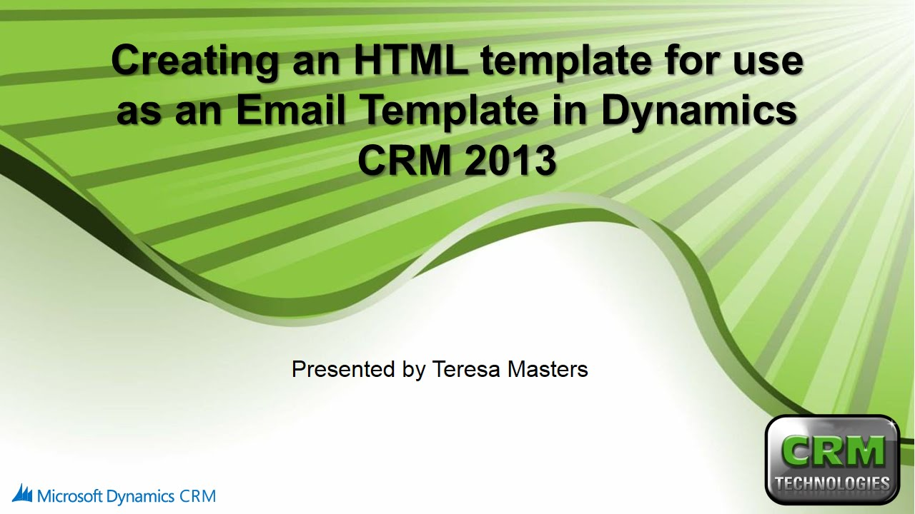 Creating an html template for use with email templates in for Creating an html email template