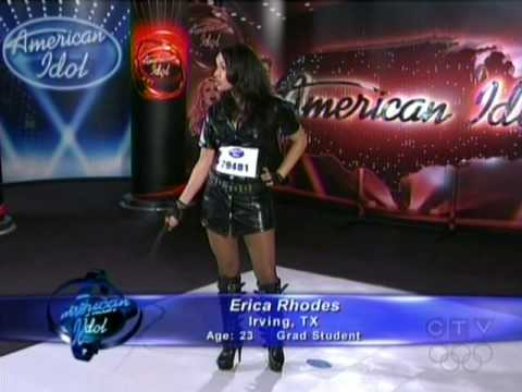 Barney Dominatrix American Idol Erica Rhodes