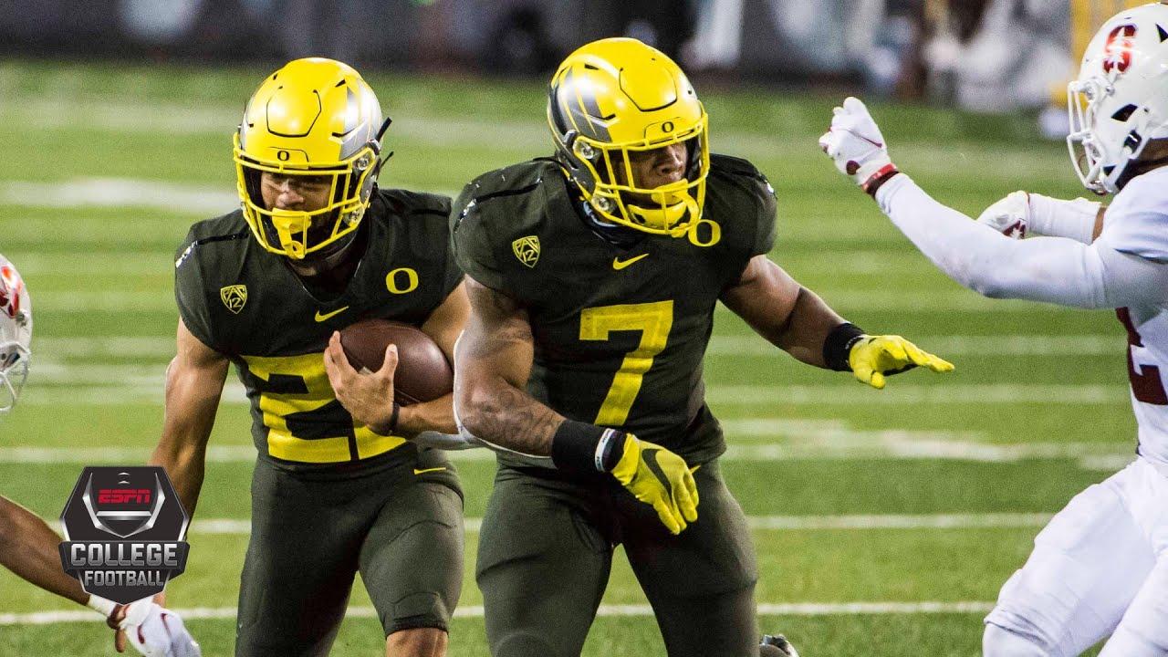 Stanford Cardinal vs. Oregon Ducks   2020 College Football Highlights