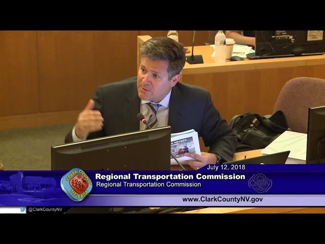 RTC Board Meeting - July 12, 2018