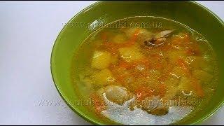 как приготовить суп куриный суп видео