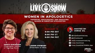 CE LIVE Show: Women in Apologetics w/ Laurie Stewart & Krista Bontrager
