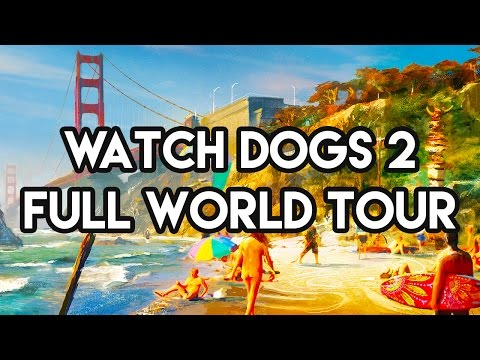 watch dogs 2 pc how to go on free roam
