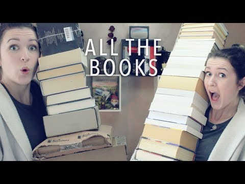 THE BOOKIEST BOOK HAUL OF THEM ALL