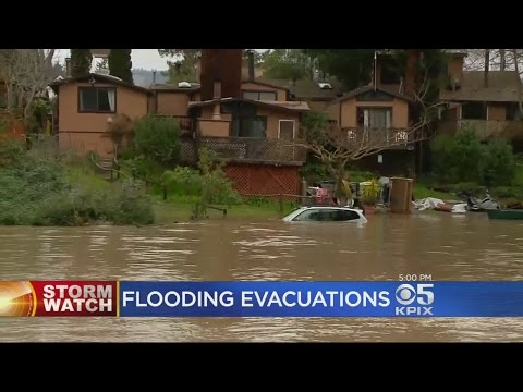 Flooding Forces Some Evacuations In Guerneville