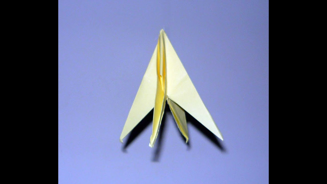Rocket Origami Really Flies