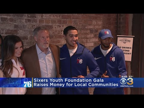 Sixers Youth Foundation Gala Raises Money For Local Communities