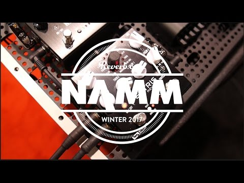 Source Audio Ventris Reverb At NAMM 2017