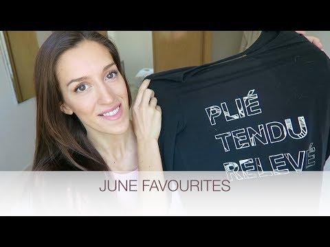 JUNE FAVOURITES - Ballet Top, Vegan Treats, Best Documentary | natalie danza