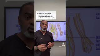 Nerve Symptoms In The Legs And Feet - YouTube Shorts