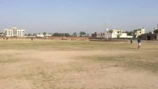 Bowling near Govind gowdham
