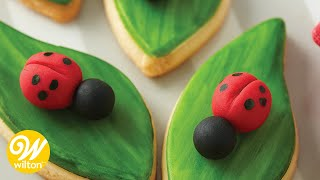 How to Make a Fondant Ladybug | Wilton