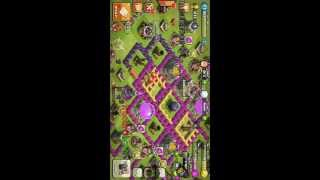 Auto search match in Clash of Clans