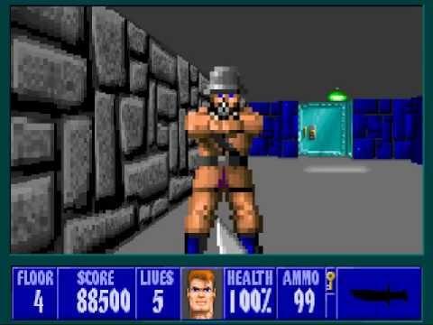 Nostalgia Gaming with Elin - Wolfenstein 3D |
