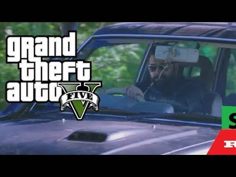 GTA 5 |Greatfather car drifting scene remix