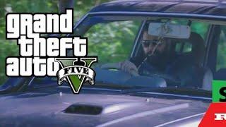GTA 5 |Greatfather car drifting scene remix