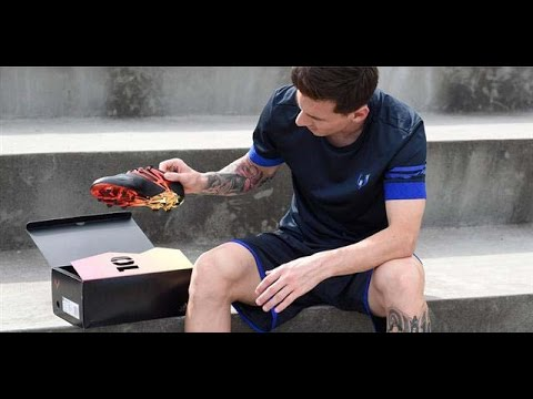 80cbff0c2db2 Limited Edition Adidas Messi 10 10 Football Boots - YouTube