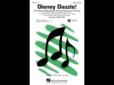 Disney Dazzle! (SAB) - Arranged by Mac Huff