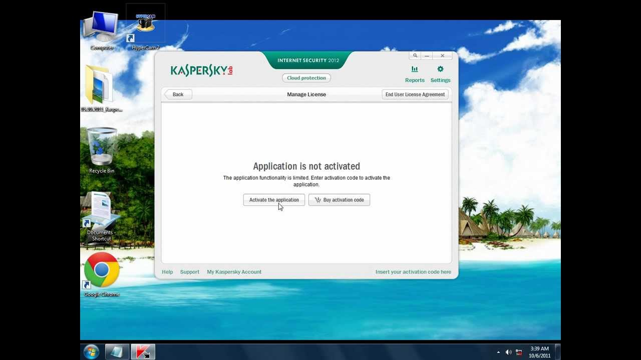 kaspersky 2012 activation code free download