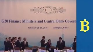 Growth and Brexit top agenda at G20 finance meeting