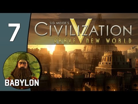 Eiffel Tower Theft - Let's Play Civilization V: Babylon - Part 7