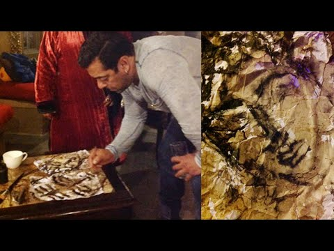 Salman Khan's New Painting Out | WATCH NOW