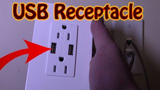 DIY How To Install A High Speed USB Charging Receptacle USB Charging Port Installation