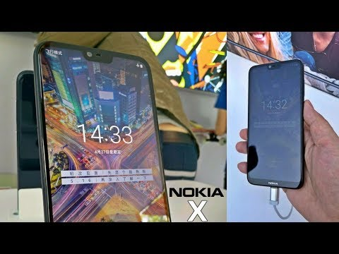 Nokia X - First Look With The Notch !!