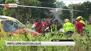 TG VICENZA (08/11/2018) - MORTO L'UOMO CADUTO DALL'ULIVO