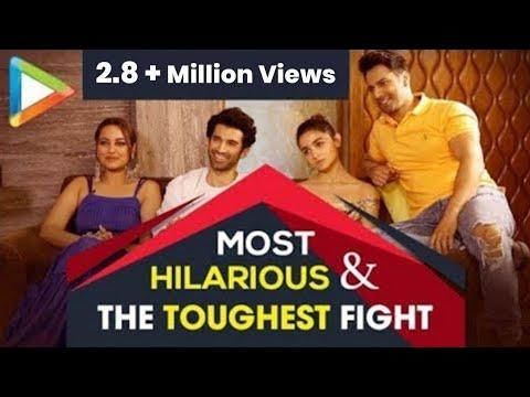 CRAZY HUNGAMA: Varun, Alia, Aditya & Sonakshi's MOST HILARIOUS QUIZ  Ever | KALANK