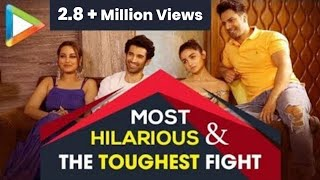 CRAZY HUNGAMA: Varun, Alia, Aditya & Sonakshi's MOST HILARIOUS QUIZ  Ever | KALANK