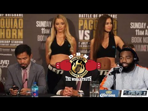 MANNY PACQUIAO VS ADRIEN BRONER PRESS CONFERENCE ANNOUNCED