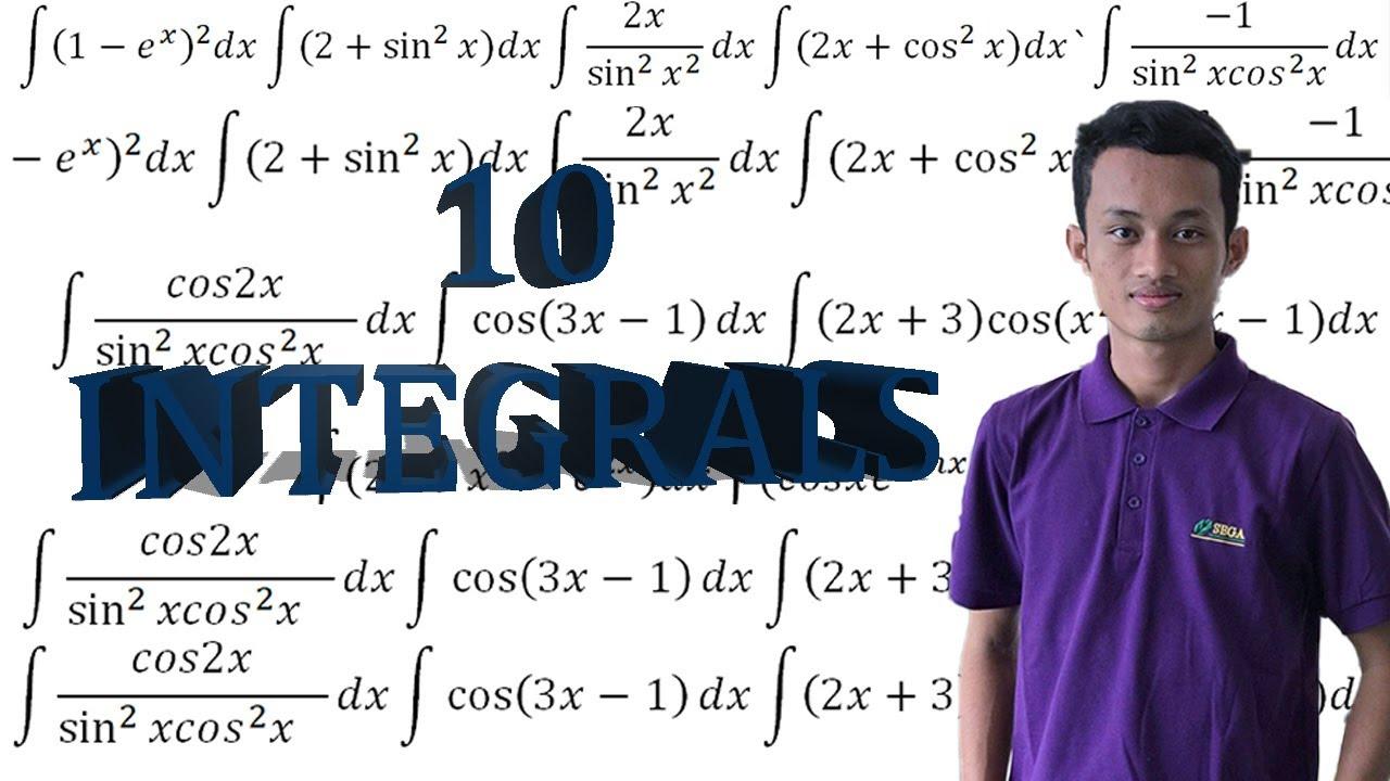 10 integrals