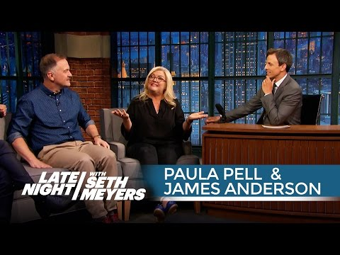 Paula Pell and James Anderson's Human Tricks and SNL Memories  Late Night with Seth Meyers