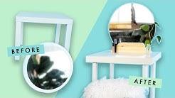 MINIMALIST VANITY IKEA UPCYCLE