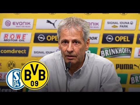 LIVE: Pressekonferenz vor dem Derby mit Lucien Favre & Michael Zorc | Schalke - BVB