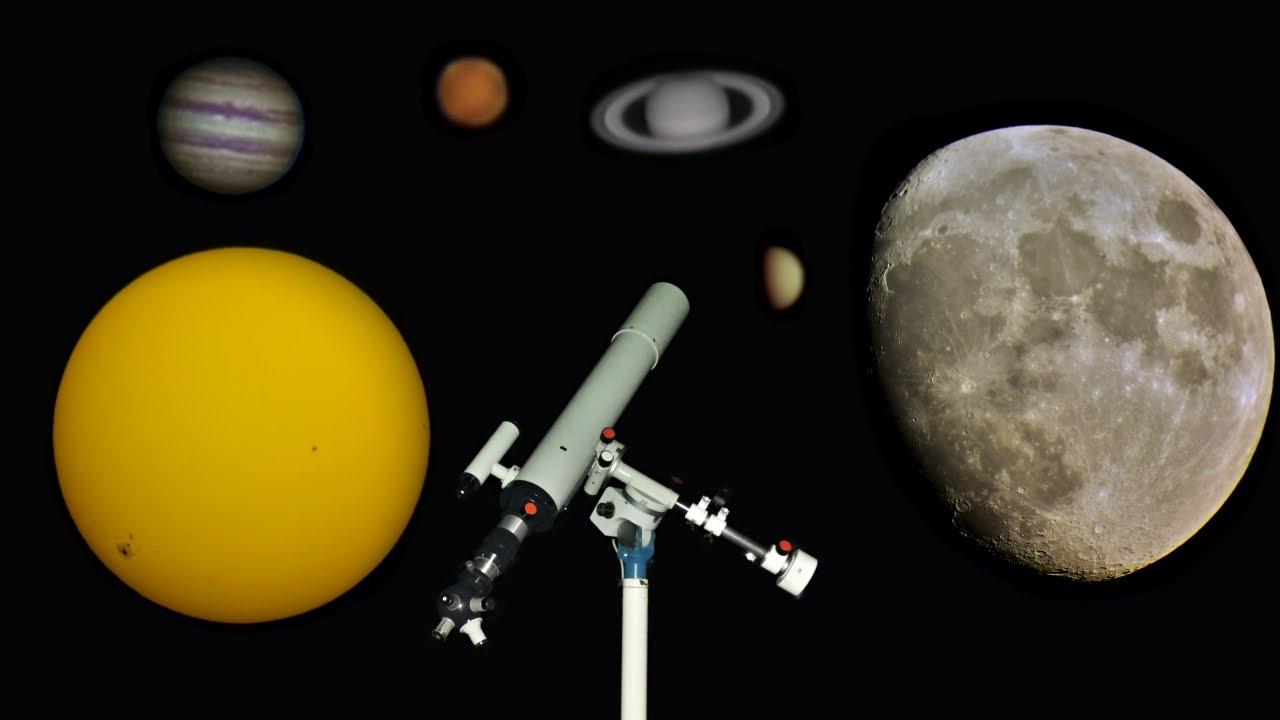 Blick durch mein teleskop 3 youtube