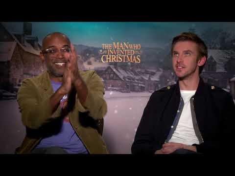 The Man Who Invented Christmas || Bharat Nalluri (Director) & Dan Stevens || SocialNews.XYZ